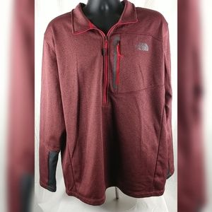 The North Face Mens Sweater Polo Zipper XXL